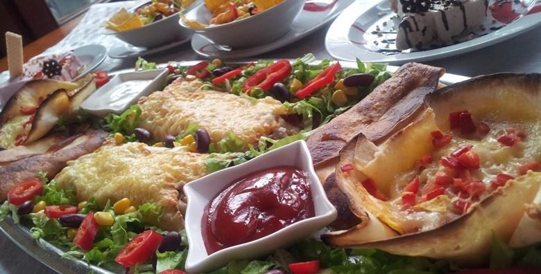 Slasne punjene tortilje, umaci, asteca salata i semifreddo - slika 3