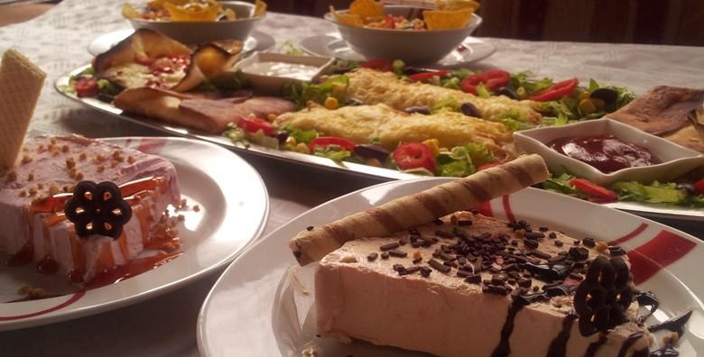 Slasne punjene tortilje, umaci, asteca salata i semifreddo - slika 4