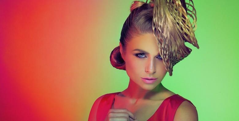 Pramenovi ili bojanje  uz preljev, šišanje, fen frizuru - slika 3