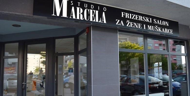 Novootvoreni Studio Marcela - pramenovi ili bojanje - slika 6