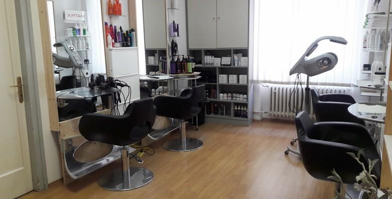 Table hair painting, šišanje i fen frizura - nova tehnika! - slika 2