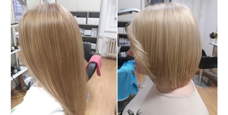 Table hair painting, šišanje i fen frizura - nova tehnika! - slika 5