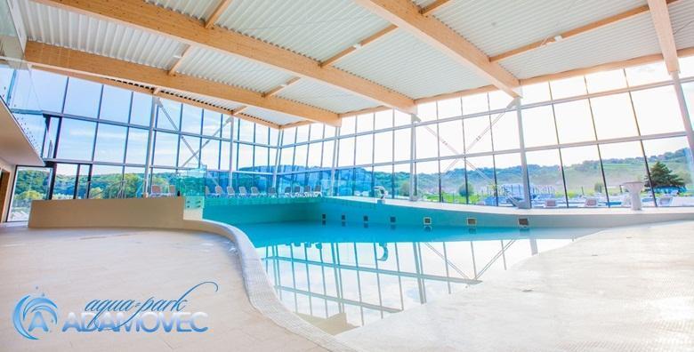 [AQUAPARK ADAMOVEC] Cjelodnevno kupanje na unutarnjim bazenima - iskoristivo svim danima u tjednu od 1.9. za samo 38 kn!