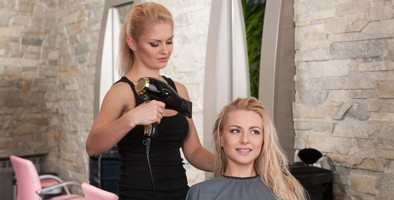 Šišanje, fen frizura i njegujuća maska od argana, zobi i meda uz vrhunske stručnjake salona Hair&Hair design za samo 89 kn!