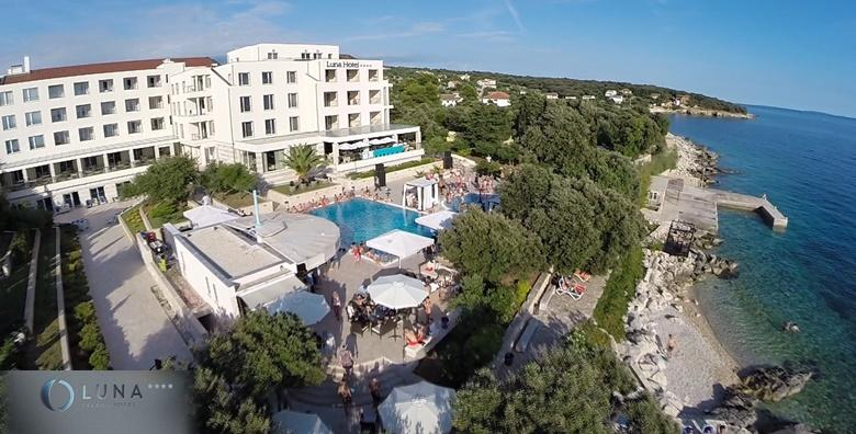 [PAG] Hotel Luna Island**** - 3 ili 7 wellness dana s polupansionom za dvoje uz neograničeno korištenje bazena, sauna i fitnessa od 1.343 kn!