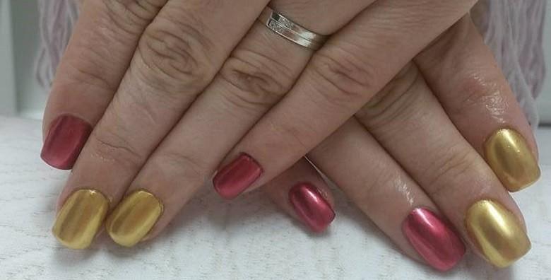 Ugradnja noktiju - gel, šablone ili tipse po izboru - slika 5
