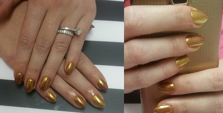 Ugradnja noktiju - gel, šablone ili tipse po izboru - slika 6