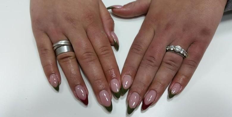 Ugradnja noktiju - gel, šablone ili tipse po izboru - slika 7
