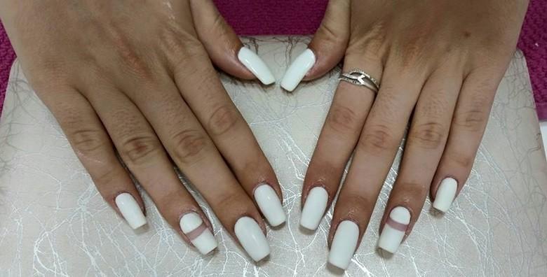 Ugradnja noktiju - gel, šablone ili tipse po izboru - slika 9
