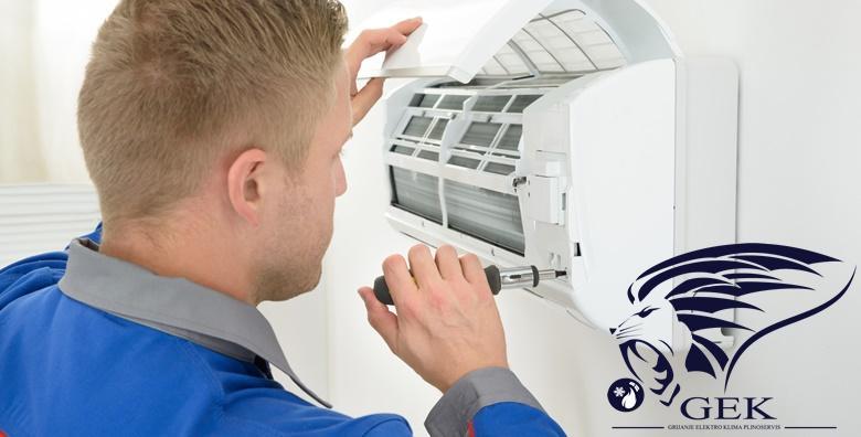 Servis klima uređaja za 129 kn!