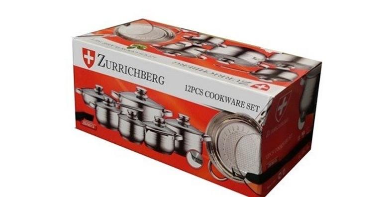 12 - dijelni set posuđa Zurrichberg od nehrđajućeg čelika - slika 3