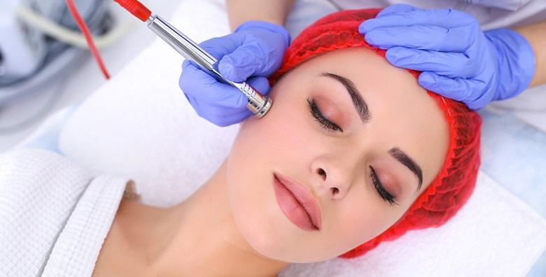Dijamantna mikrodermoabrazija, masaža lica