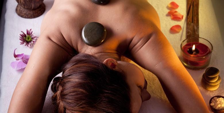 Masaža vrućim kamenjem cijelog tijela u trajanju 60 minuta