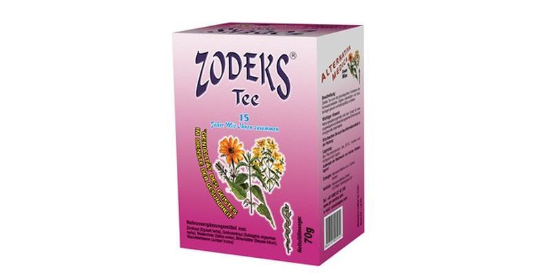 Zodeks čaj - pomaže boljoj funkciji mokraćnih organa i čišćenju bubrega za 118 kn!