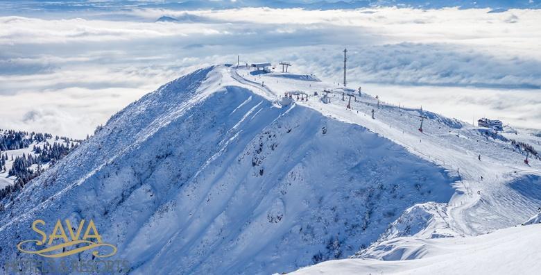 [SLOVENIJA SKIJANJE] 3 ili 4 dana s polupansionom za dvoje u hotelu**** na Bledskom jezeru uz UKLJUČEN ski pass za 5 okolnih skijališta od 2.392 kn!