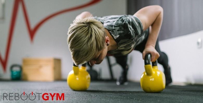 [TORNADO FIT CHALLENGER] Kroz 2 mjeseca postani osoba koja radije ide pješice nego liftom - poradi na snazi, ravnoteži i koordinaciji u Reboot gymu!