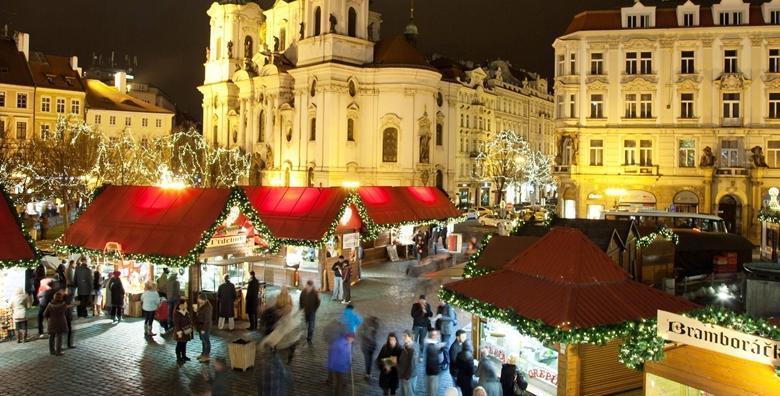 Advent u Pragu - 3 dana, prijevoz, doručak u hotelu***