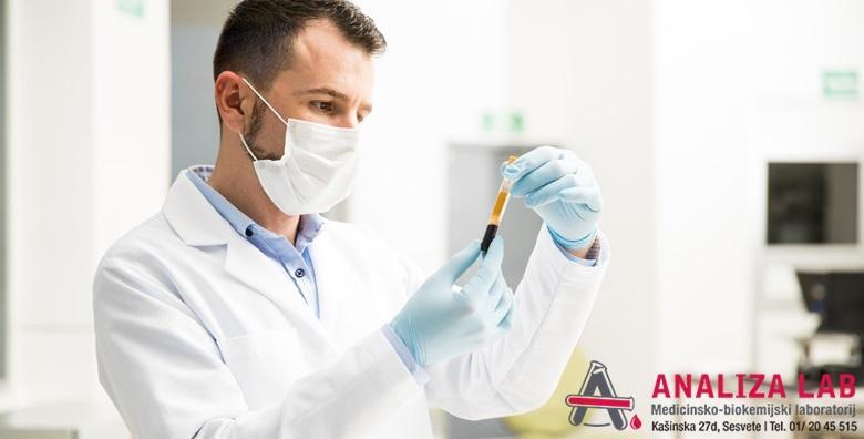 Kompletni sistematski pregled krvi i urina za žene ili muškarce u Poliklinici Analiza Lab - osnovni ili prošireni već od 290 kn!