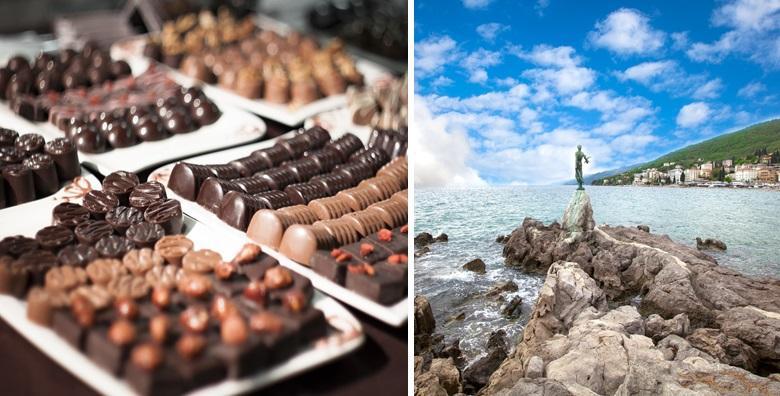 [OPATIJA] Festival čokolade - posjetite najslađu manifestaciju, degustirajte slastice i priuštite si predivan božićni ugođaj na Kvarneru za 125 kn!