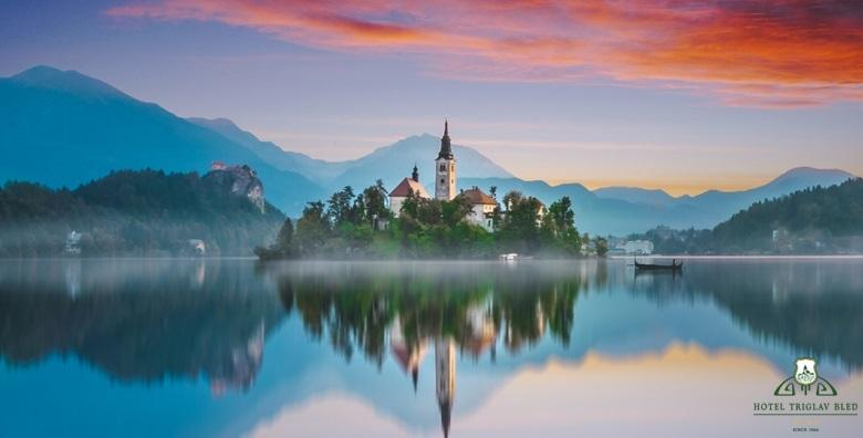 [WELLNESS NA BLEDU] 2 ili 3 dana s doručkom za dvoje u sobi s pogledom na jezero u Hotelu Triglav Bled**** od 739 kn!