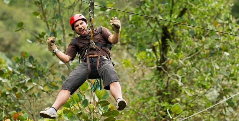 Adrenalinski park Rizvan City - zipline, penjanje na stijenu, divovska ljuljačka i uzbudljiv alpinistički poligon za 99 kn!