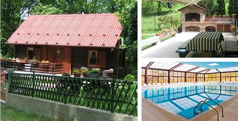 [HRVATSKO ZAGORJE] Najam drvene kuće - 3 ili 4 dana guštanja za do 5 osoba uz 30% popusta na ulaznice za Terme Jezerčica od 479 kn!
