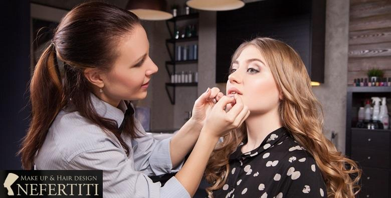 Make-up radionice u trajanju 4 sata u salonu Nefertiti - postani sama svoj makeup artist i nauči trikove savršenog šminkanja za 149 kn!