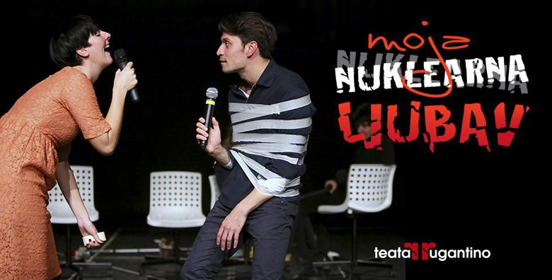 Predstava Moja nuklearna ljubav u Lisinskom - slika 3