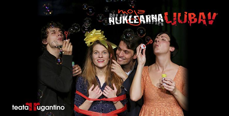 Predstava Moja nuklearna ljubav u Lisinskom - slika 4