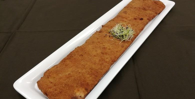 Pureći ili svinjski zagrebački odrezak 50 cm - slika 2