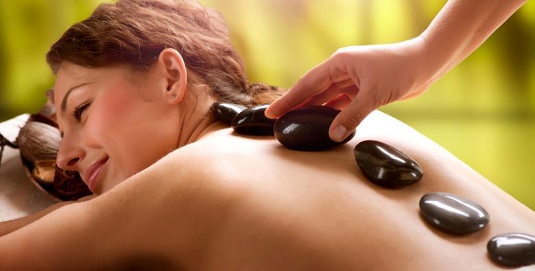 Hot stone masaža leđa u trajanju 45 minuta