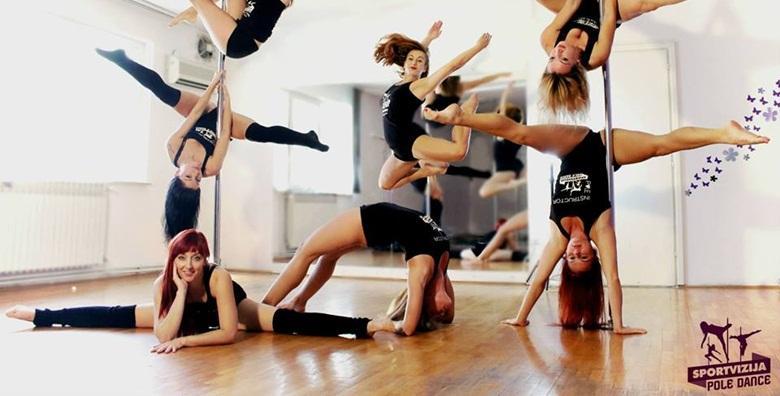 [PLES NA ŠIPCI] Početni tečaj u trajanju mjesec dana - podignite samopouzdanje i izrazite svoju osobnost kroz ples u Sportvizija centru za 119 kn!