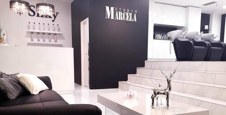 Botox za kosu uz šišanje i fen frizuru u Studiju Marcela - slika 12