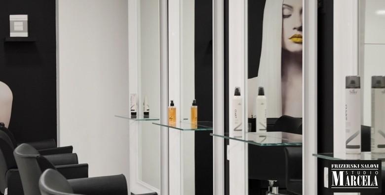 Botox za kosu uz šišanje i fen frizuru u Studiju Marcela - slika 14