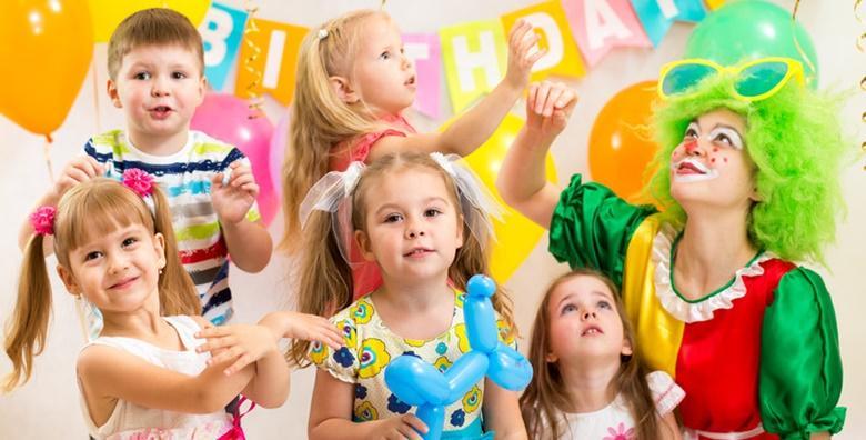 Najam prostora za dječje rođendane u trajanju 2h