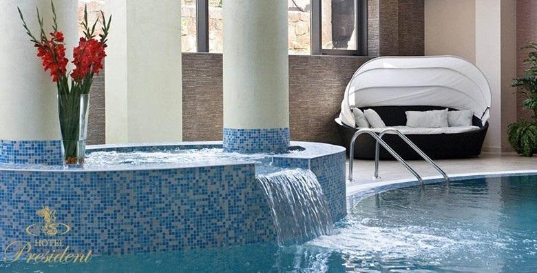 [SOLIN] Hotel President***** - 3 ili 4 dana s doručkom za dvoje uz masažu u trajanju 30 minuta i neograničeno korištenje bazena i saune od 1.200 kn!