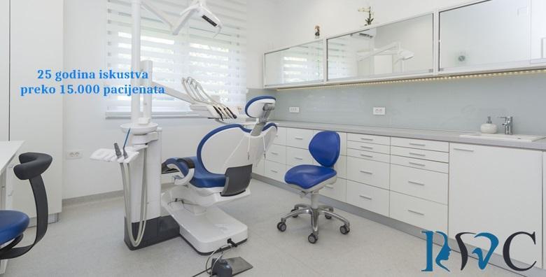 [KOMPLETNO NOVI ZUB] Zubni implantat, suprastruktura i metal keramička krunica uz pregled i analizu RTG snimke gratis za 4.200 kn!