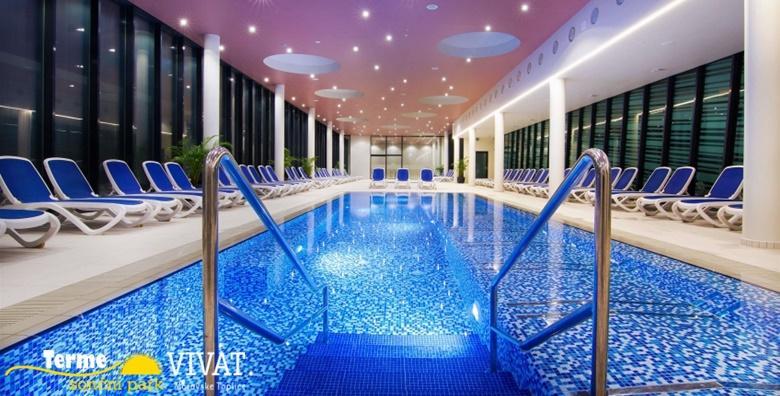 [MORAVSKE TOPLICE] Terme Vivat**** - 3 dana s polupansionom za dvoje uz neograničeno korištenje bazena i sauna za 1.631 kn!