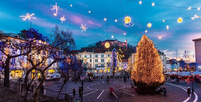 Advent u Ljubljani i Postojnskoj jami - doživite blagdanski ugođaj slovenske metropole i razgledajte jednu od najpoznatijih jama na svijetu za 159 kn!