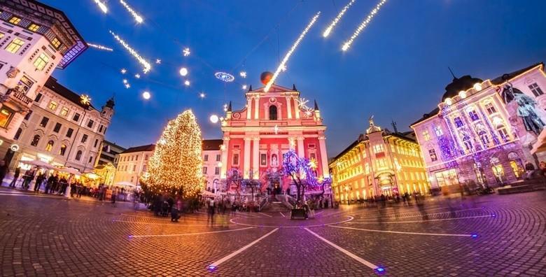 Božićna čarolija u Ljubljani i Postojnskoj jami - uživajte u slovenskoj metropoli i razgledajte žive jaslice u poznatoj jami za 155 kn!