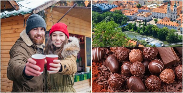 [ADVENT U GRAZU] Cjelodnevni izlet s prijevozom uz razgled grada i posjet poznatom čokoladnom carstvu tvornice Zotter za 145 kn!