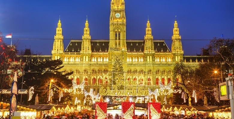 [ADVENT U BEČU] 2 dana s prijevozom i doručkom u Hotelu*** - uživajte u predbožićnom ugođaju i obilju dobrog raspoloženja za 535 kn!