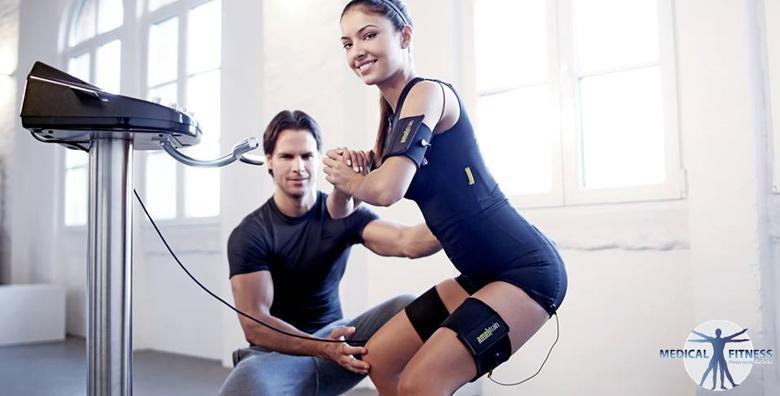 Revolucionarni način vježbanja s elektrostimulacijom mišića uz osobnog trenera! 6 AMPLITRAIN treninga prilagođenih vašim potrebama za 399 kn!
