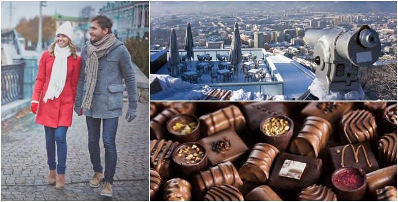 [ADVENT U GRAZU] Razgledajte grad osvijetljen mnoštvom božićnih lampica i guštajte u neograničenoj degustaciji čokolade u tvornici Zotter za 159 kn!