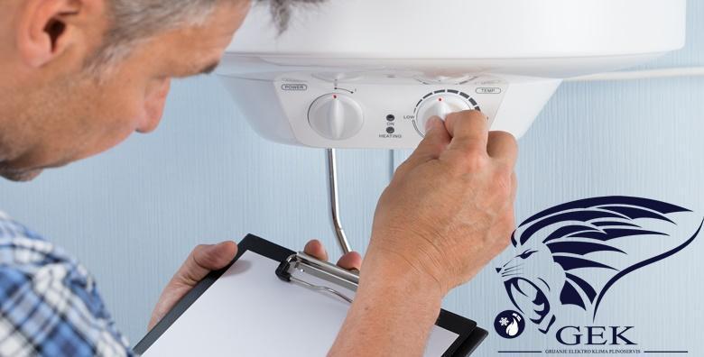 Servis plinskog bojlera - redovitom kontrolom spriječite kvarove za 249 kn!