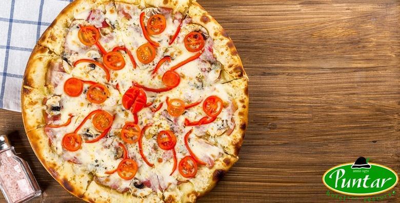 [GORNJA STUBICA] Jumbo pizza u restoranu Puntar - guštajte u ukusnoj kombinaciji sastojaka i hrskavoj korici za 40 kn!