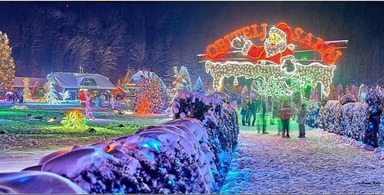 Božićna bajka obitelji Salaj - prijevoz i ulaznica