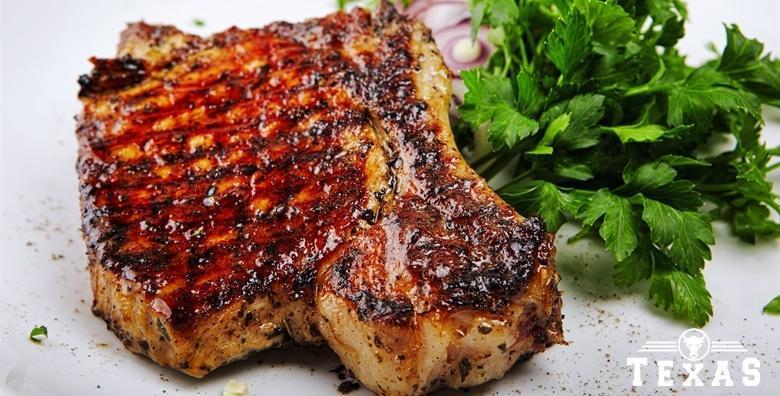 Ramstek na žaru - 300 grama čistog mesnog užitka