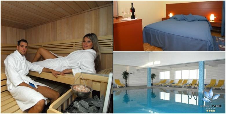 [LOVRAN] Hotel Park**** - 2 wellness dana s polupansionom za dvije osobe uz korištenje spa zone, sauna, bazena i fitnessa za 500 kn!