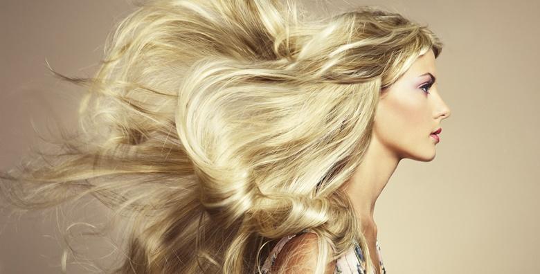 Bojanje ili pramenovi po izboru, šišanje, fen frizura i pranje kose uz pakung u Frizerskom salonu Emanuel za 129 kn!